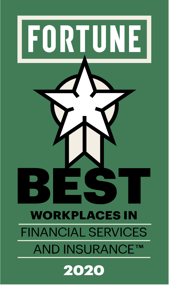 Fortune's Best Places to Work in Financial Services 2020