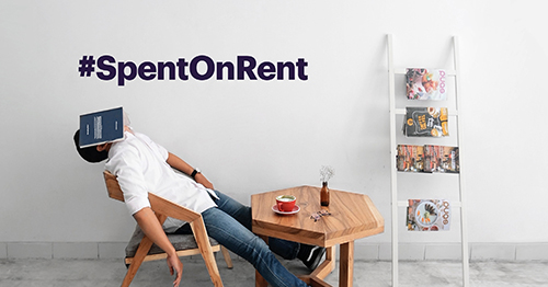 Why millennials are #SpentOnRent, in their words