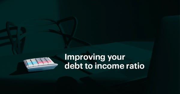 Lowering your debt to income ratio (DTI) when applying for a mortgage